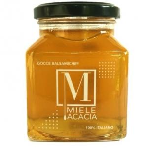 < alt = ''miele di acacia, produzione italia'' />